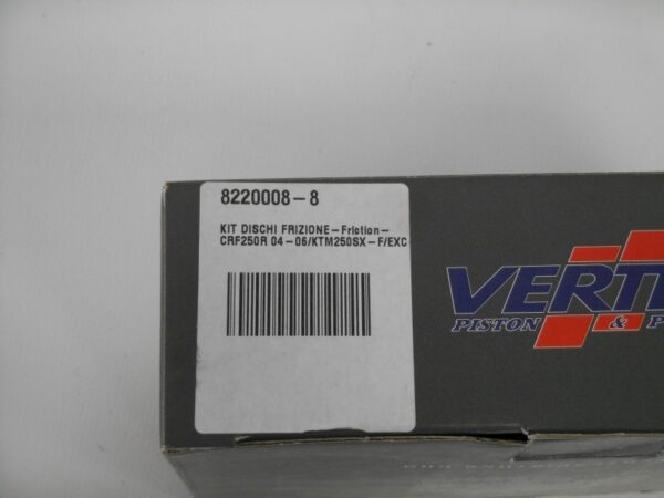 VERTEX KIT DISCHI FRIZIONE CRF/KTM250