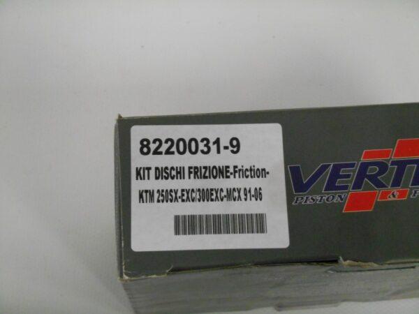 VERTEX KIT DISCHI FRIZIONE KTM250SX