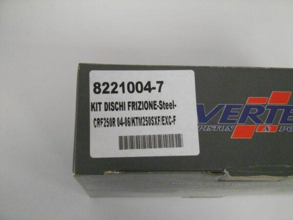 VERTEX KIT DISCHI FRIZIONE CRF-KTM250