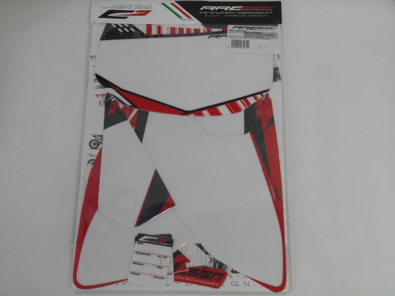 KIT B FR CRF 250X 04/07 WHITE