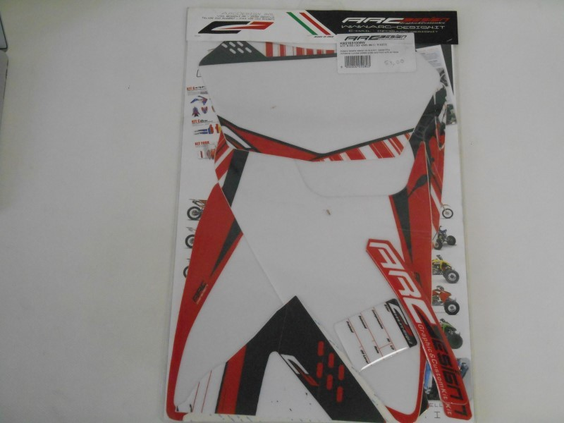 KIT B FR CRF 450X 08/11 WHITE