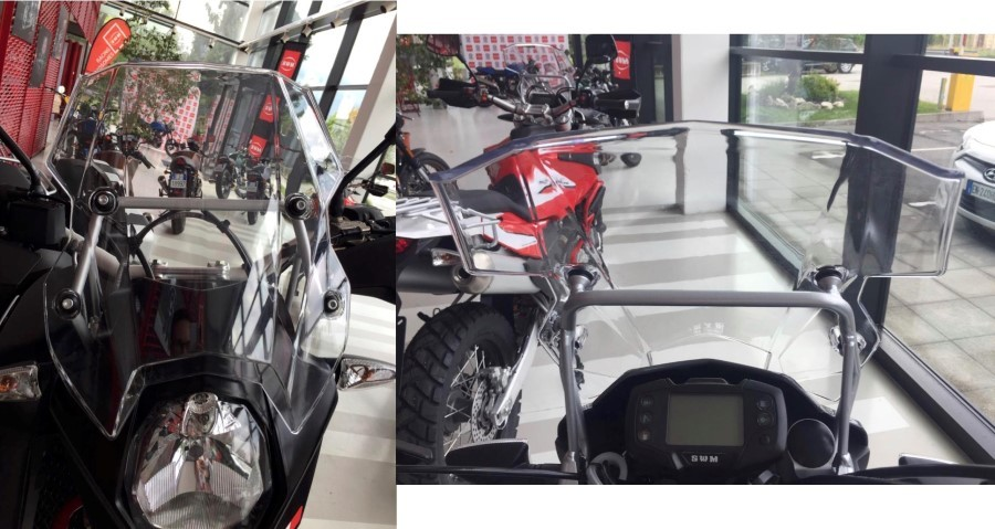 KIT WINDSCREEN RS 650 R AND SM 650 R (MODELLO SUPERDUAL) SWM