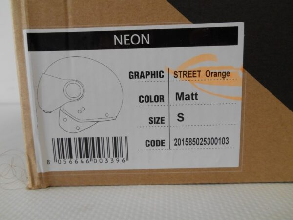 CASCO ORIGINE NEON STREET ORANGE