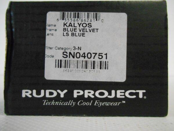 OCCHIALI RUDY PROJECT KALYOS BLUE VELVET