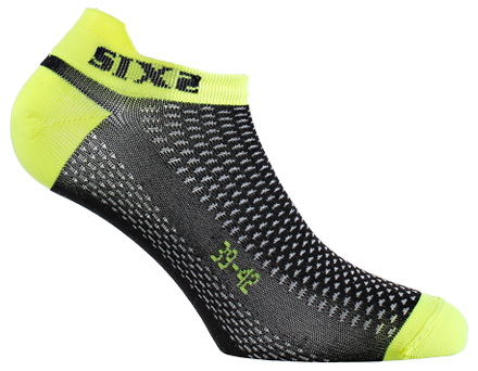 CALZINI SIX2 SOCKS YELLOW FLUO FANT S