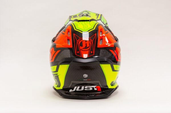 JUST1 J12 (Tg XL) DOMINATOR NEON LIME-RED