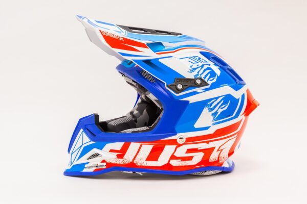 JUST1 J12 DOMINATOR WHITE-RED-BLUE