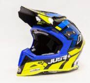 JUST1 J12 VECTOR FLUO YELLOW-BLUE-CARBON
