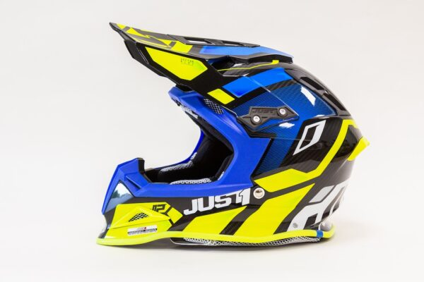 JUST1 J12 (Tg M) VECTOR FLUO YELLOW-BLUE-CARBON