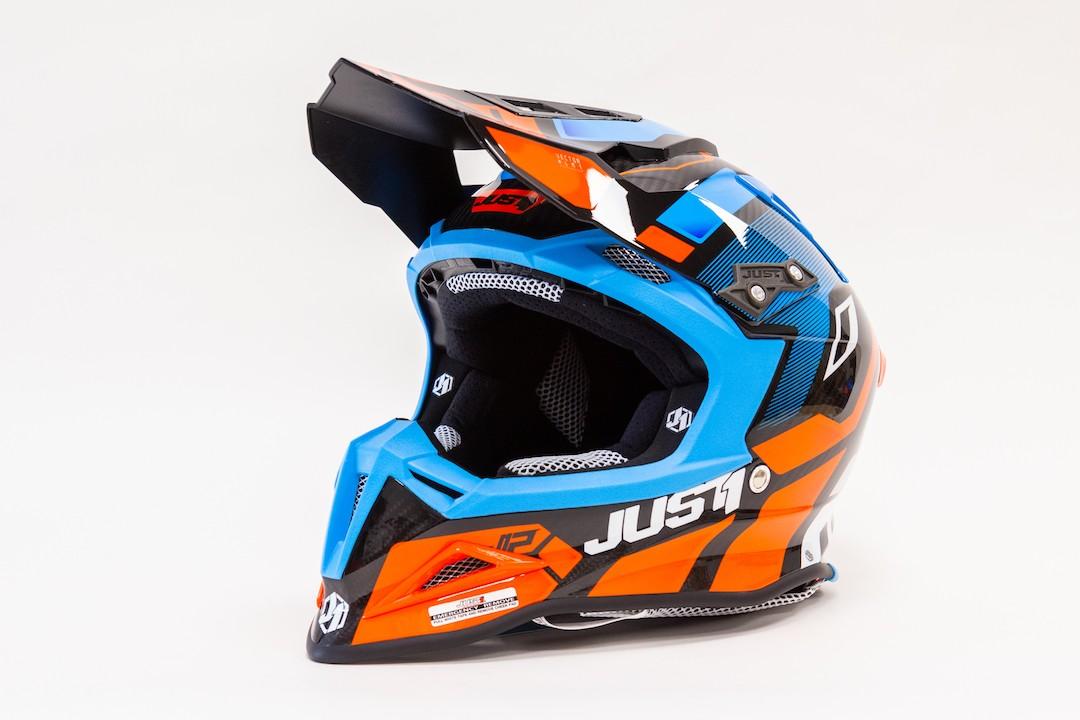 JUST1 J12 (Tg M) VECTOR ORANGE-BLUE-CARBON