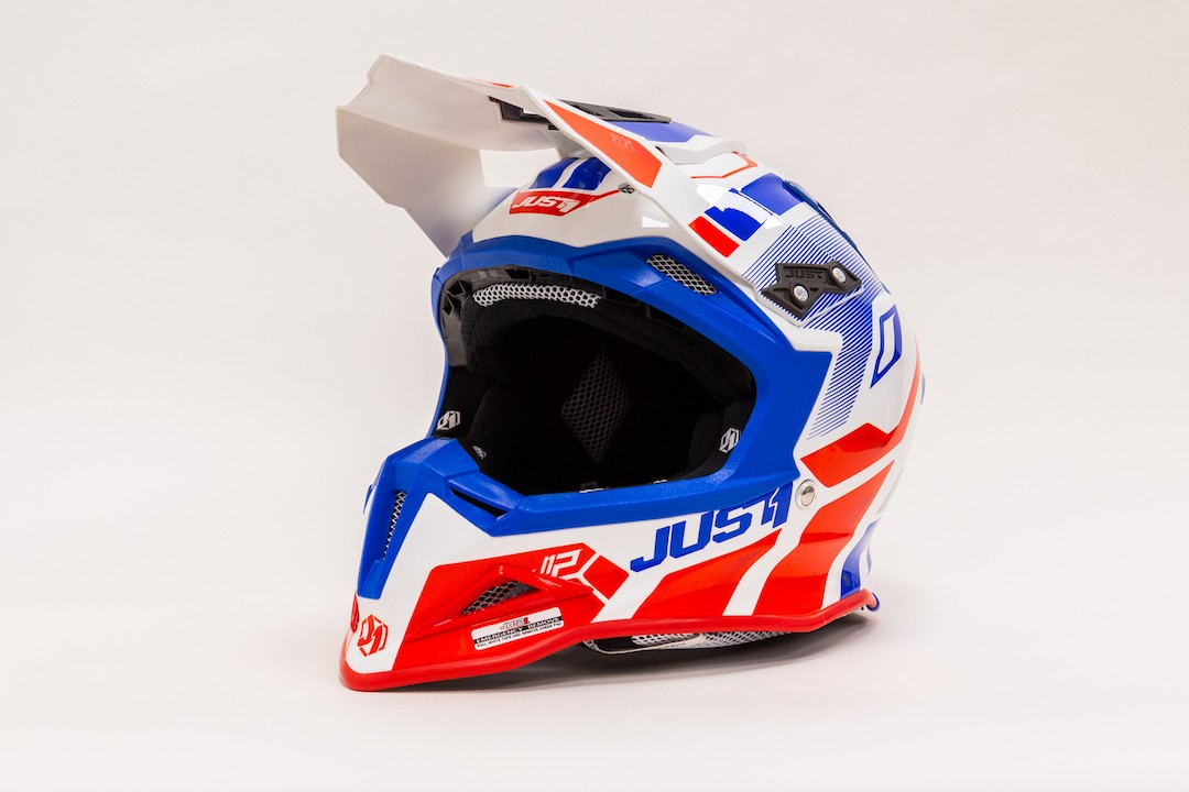 JUST1 J12 (Tg L) VECTOR RED-BLUE-WHITE