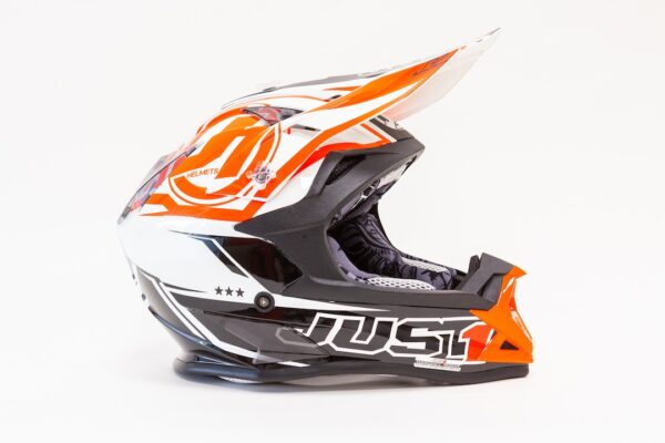 JUST1 J32 PRO RAVE BLACK-ORANGE