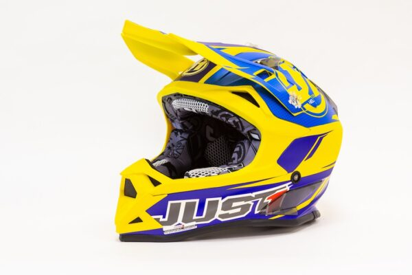 JUST1 J32 PRO RAVE BLUE-YELLOW