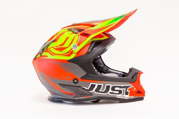 JUST1 J32 PRO RAVE RED-LIME