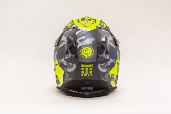 JUST1 J32 PRO (Tg L) SWAT CAMO-FLUO YELLOW