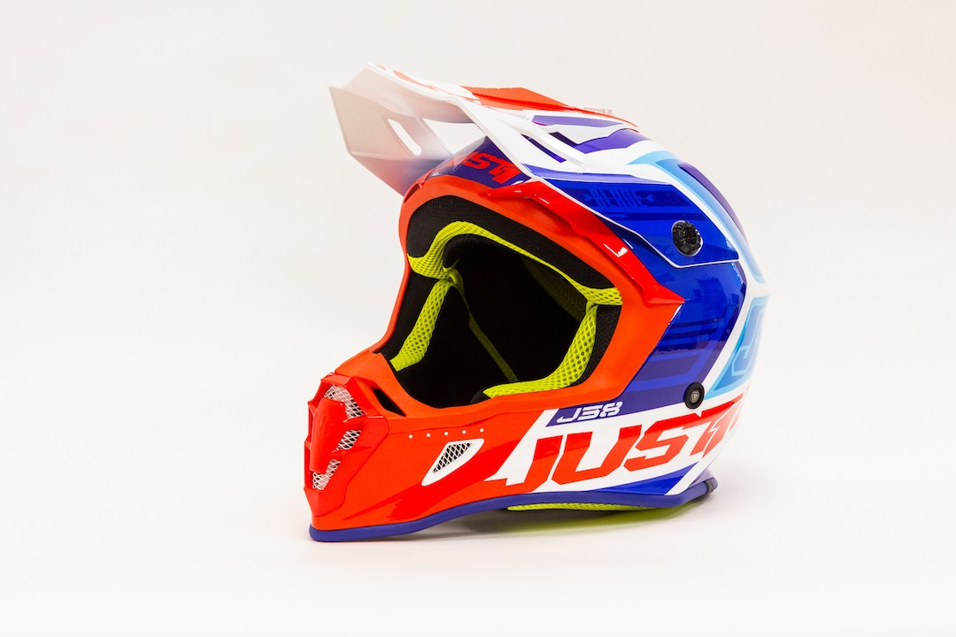 JUST1 J38 BLADE BLUE-RED-WHITE