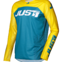 JERSEY J-FORCE TERRA BLUE/YELLOW