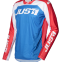 JERSEY J-FORCE TERRA BLUE/RED/WHITE