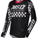 JERSEY J-FORCE RACER BLACK/WHITE