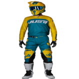COMPLETO J-FORCE TERRA BLUE/YELLOW