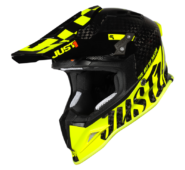 JUST1 J12 PRO RACER FLUO YELLOW CARBON – Gloss