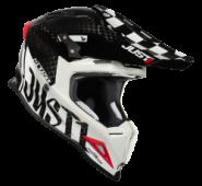 JUST1 J12 PRO RACER WHITE CARBON – Gloss