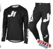 JUST1 J-ESSENTIAL-NERO- COMPLETO (pantaloni+maglia)