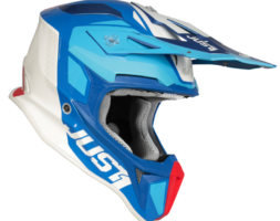 Just1 J18 Pulsar BLUE RED WHITE GLOSS