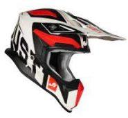 Just1 J18 Virtual FLUO RED WHITE MATT